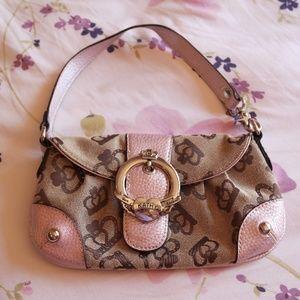 Kathy Van Zeeland crown purse clutch